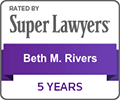 Beth M. Rivers, Attorney - Pitt McGehee Palmer & Rivers - superlawyerbeth